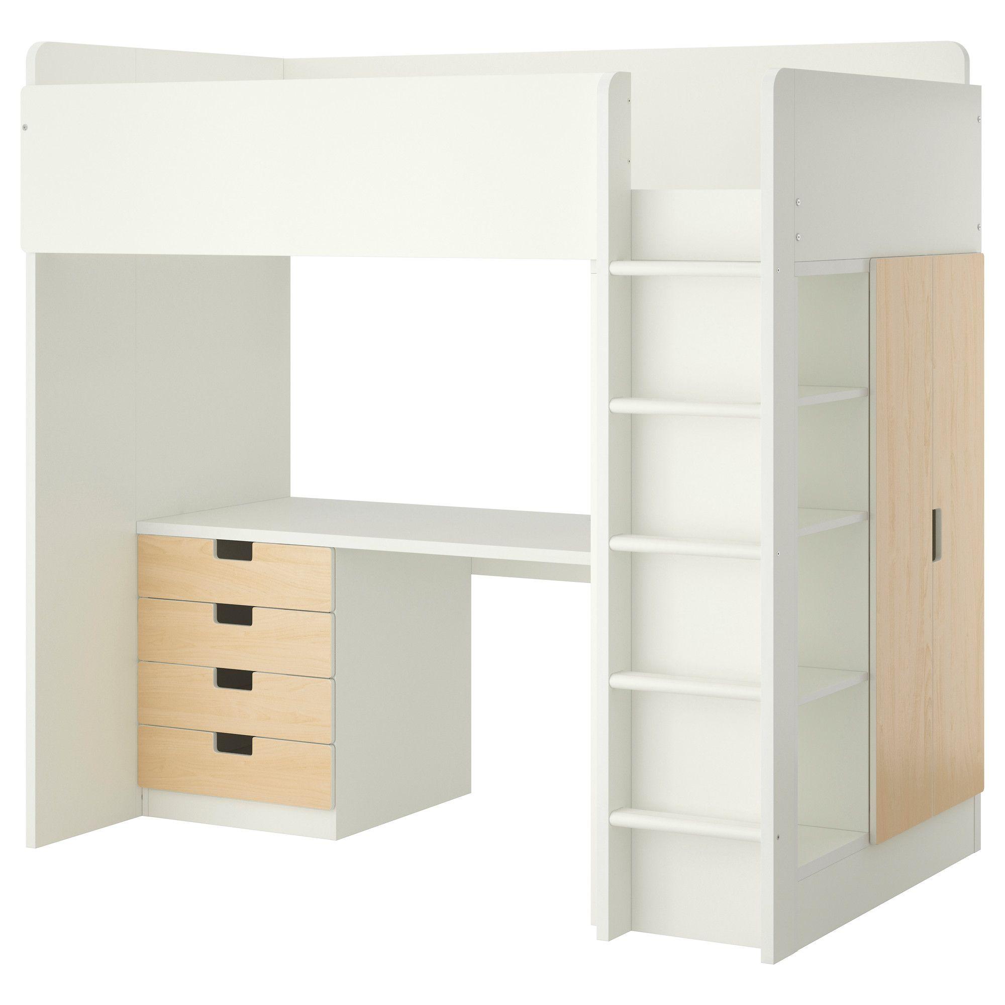 Us Furniture And Home Furnishings Ikea Loft Bed Stuva Loft