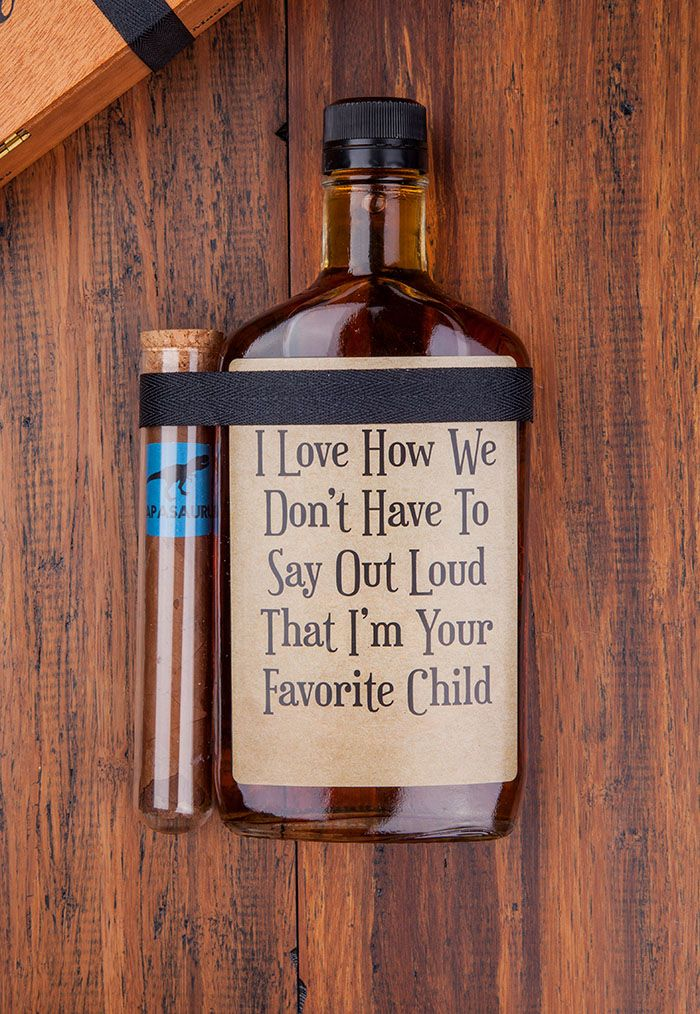 Fathers Day ideas, gifts for dad, liquor for dad, custom liquor ...