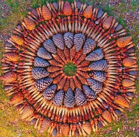 Land art also called earth art - a fascinating art form. Everything is made on site and the artists inspired by the nature around. Perhaps something to adorn your garden? Land art eller jordkonst. Titta och njut