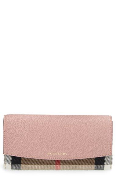 afe576f79fa Burberry  Porter  Continental Wallet available at  Nordstrom ...