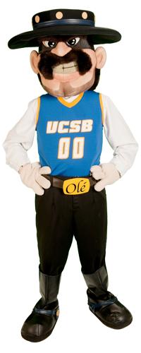 Uc Santa Barbara Gauchos Mascot Ole The Gaucho Mascot Uc Santa Barbara Mario Characters