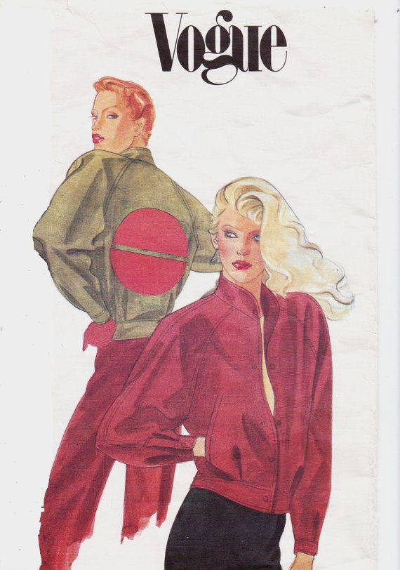 Pin Na Doske 1980s Sewing Patterns