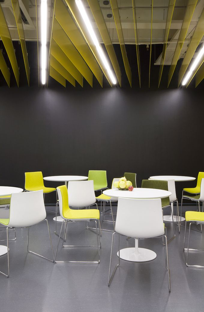 Goodofficedesignyandexbusinessinteriorsbreakoutareacanteen Impressive Good Office Design