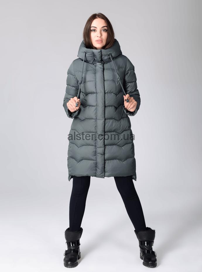 a8fb40fc0b3 Зимняя куртка Clasna CW17D006CW grey купить в Украине