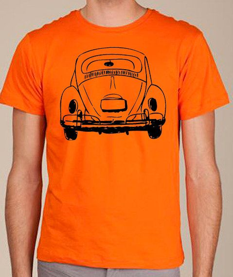 vw beetle volkswagen bug retro shirt custom colors   etsy vw bug typographie