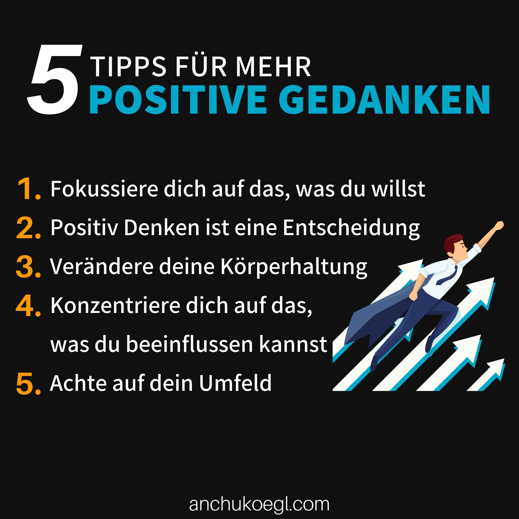 Positive Einstellung Lernen