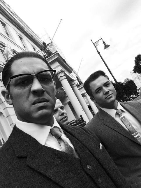 Ronnie Kray, Mad Teddy and Leslie Holt (background) #Legend