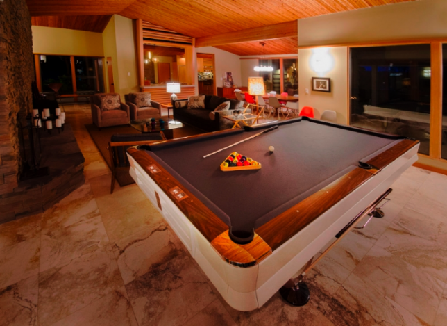 Ann McCulloch Studio » News Pool table room, Midcentury