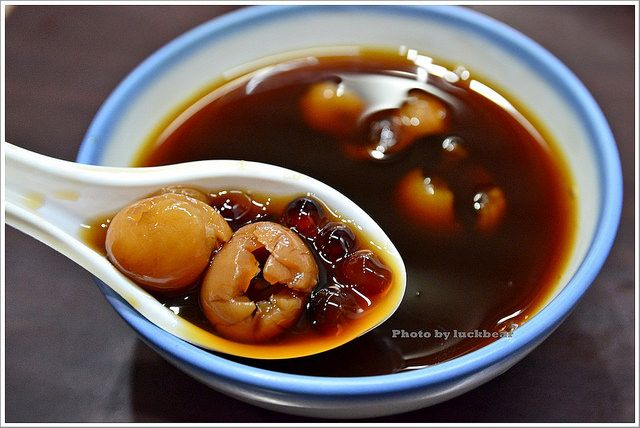 longan boba soup   Taiwanese dessert
