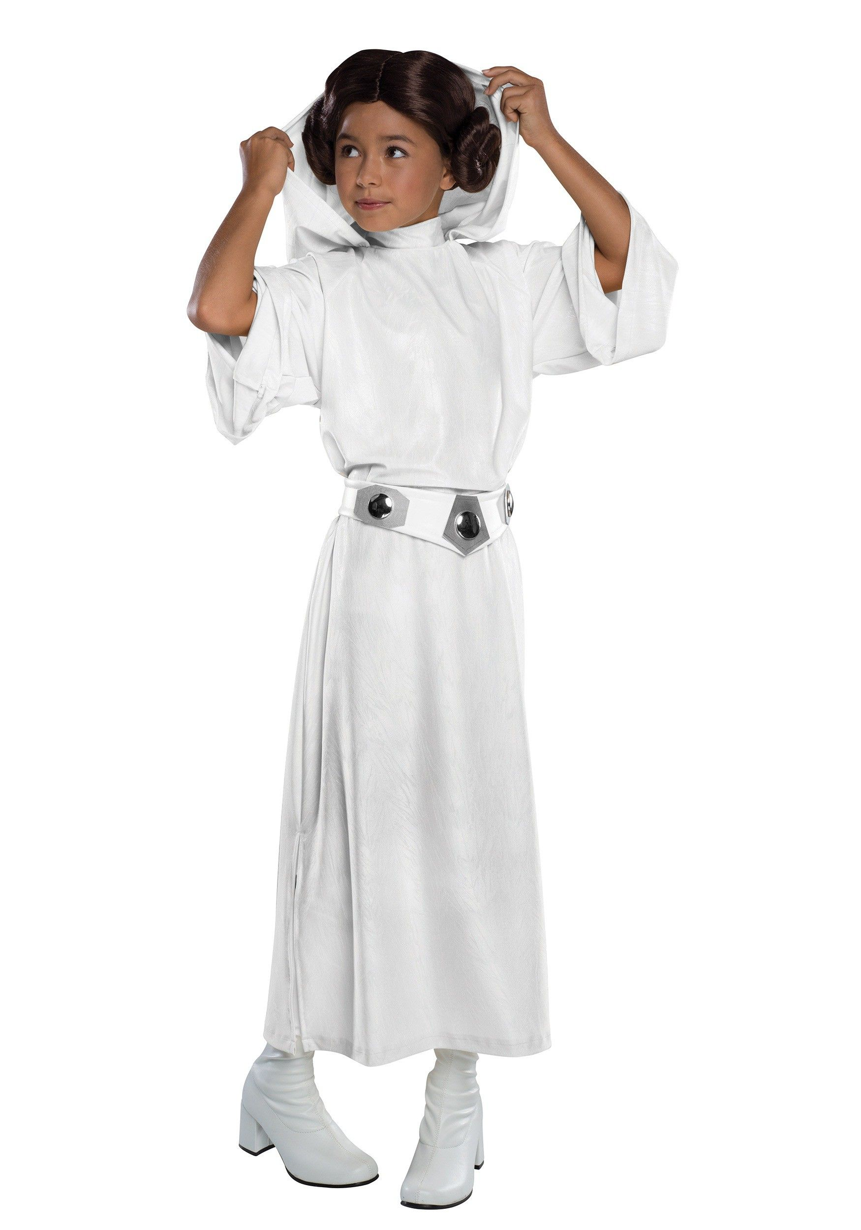 Girls Child STAR WARS Deluxe Princess Leia Costume
