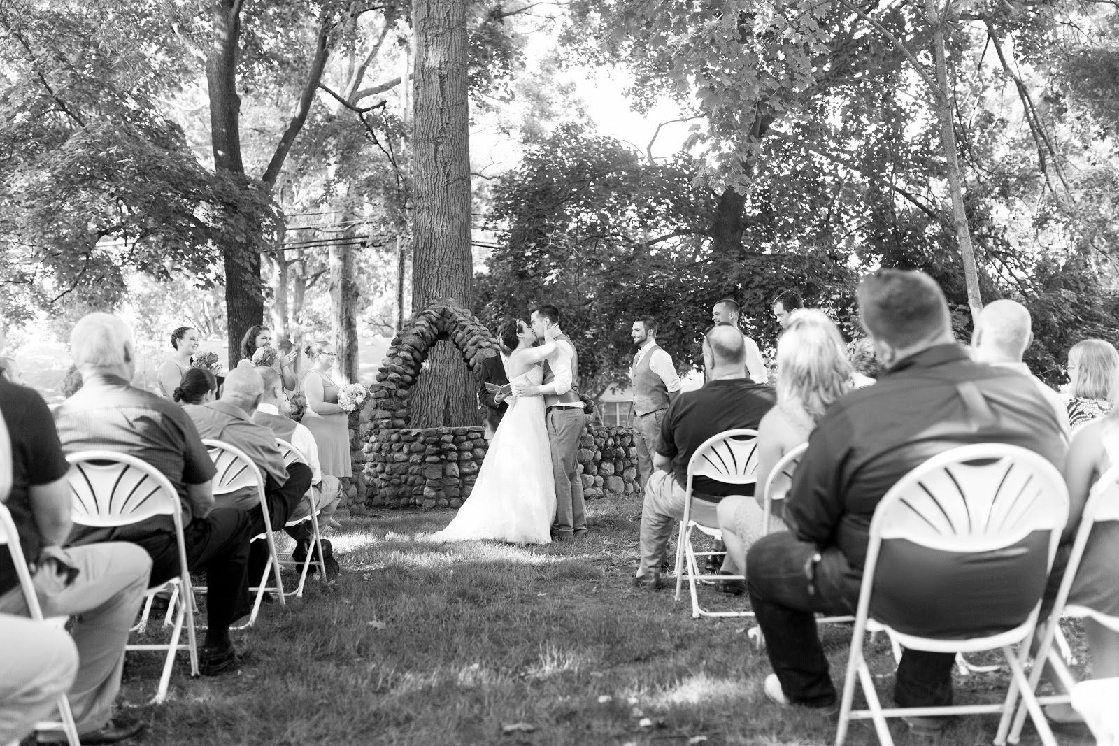 outdoor weddings near akron ohio%0A wishing well ceremony   unique wedding venues in Ohio  the Historic O C   Barber Anna Dean