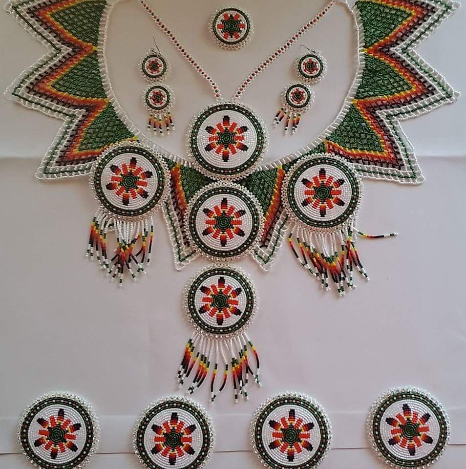 Choctaw Beads: Pin By Lakeishia Wallace On Choctaw Beadwork