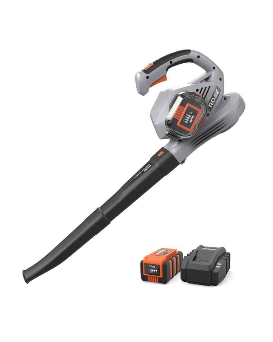 Anker Roav 36v Cordless Leaf Blower The Ideal Yard Companion With Images Leaf Blower Blowers Electric Leaf Blowers