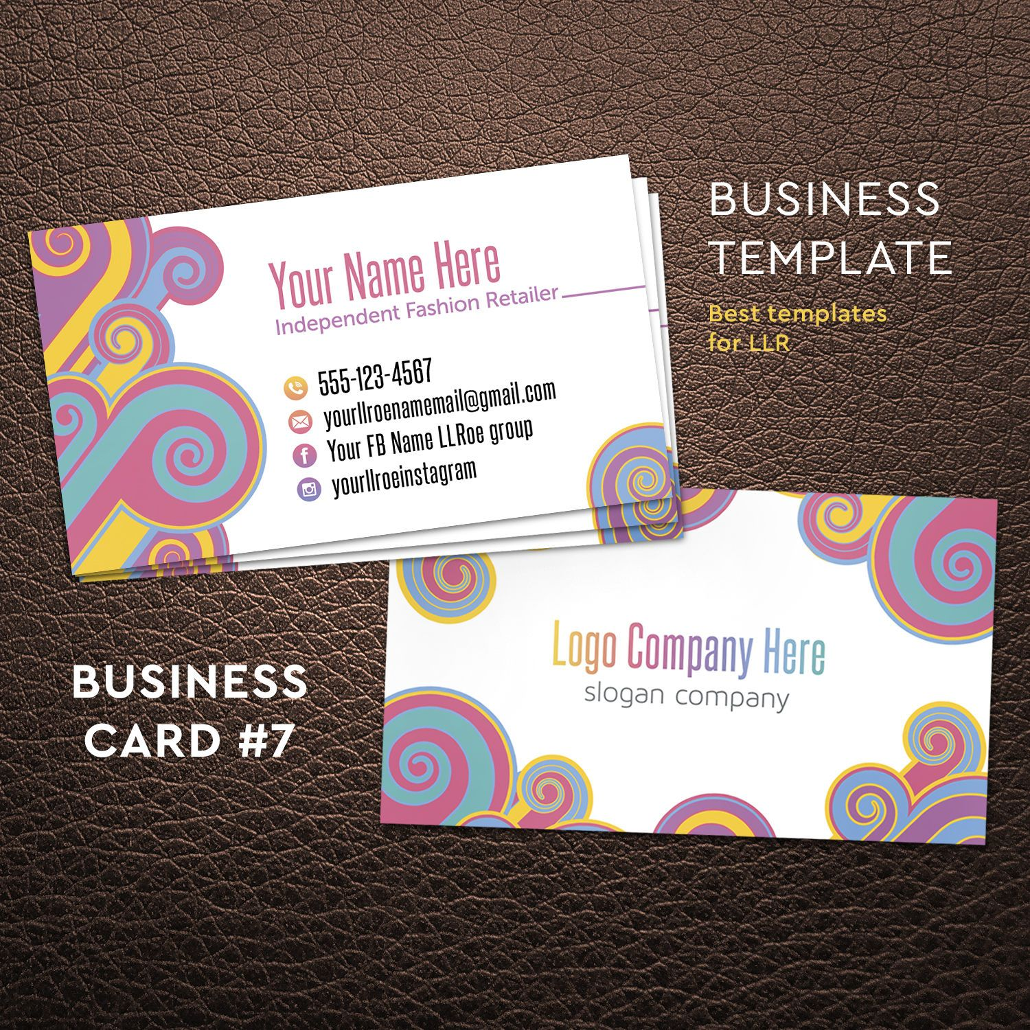 Business Cards, Home Office Approved, llr business card, Custom ...