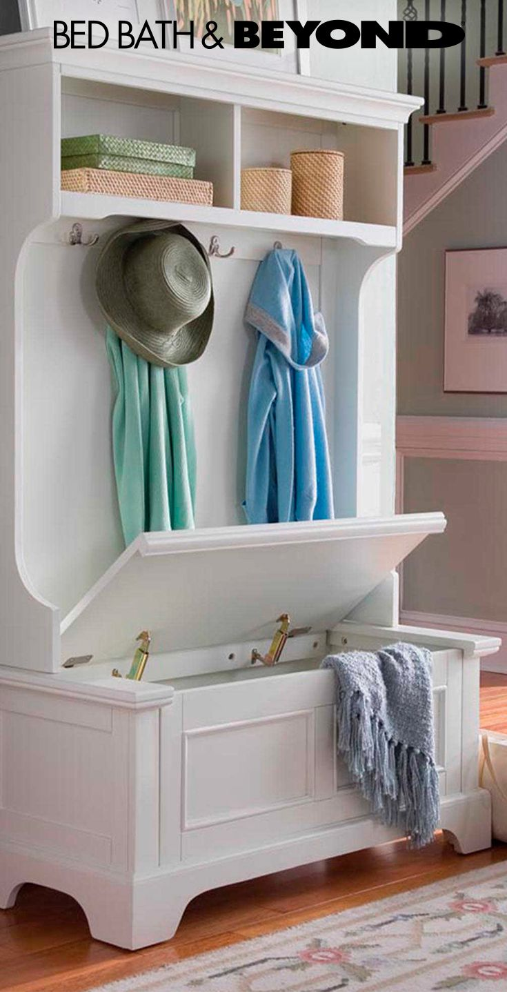 Storage for hallway  Turn hallways into storage space with allinone organization