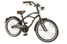 20 Zoll Black Cruiser Kinder Fahrrad Retro Oldschool Holland Rad