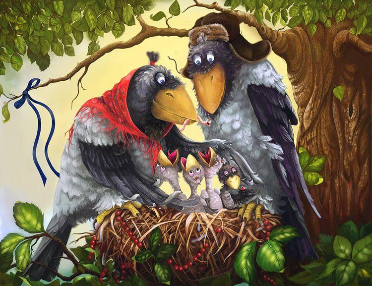 открытка нов ворона можете