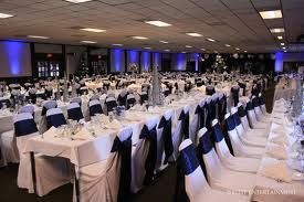 Navy and White Seating