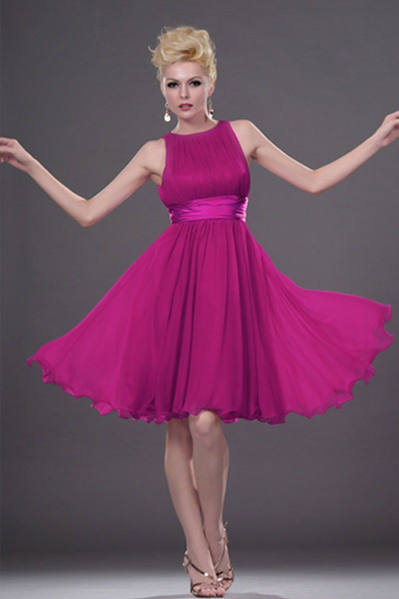 Chic Princess Knee Length Bridesmaid Dress picture 1 | Bridesmaid ...