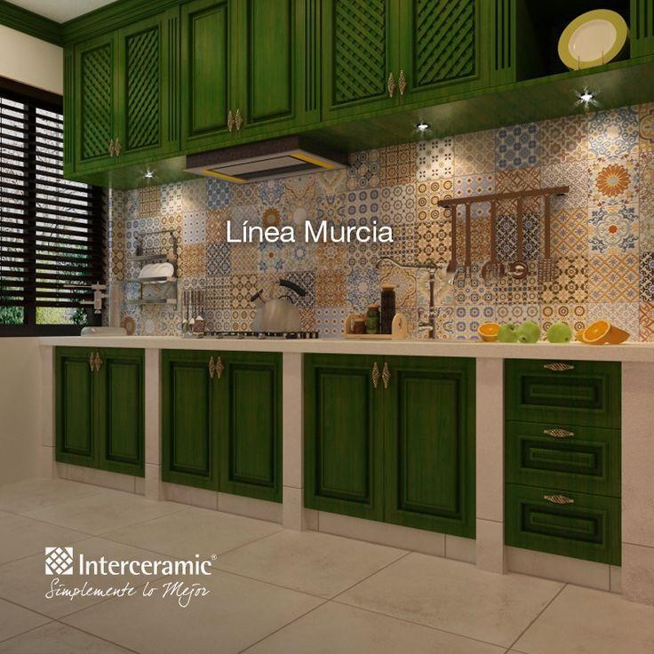 Interceramic cocinas rusticas buscar con google - Cocinas rusticas pequenas ...