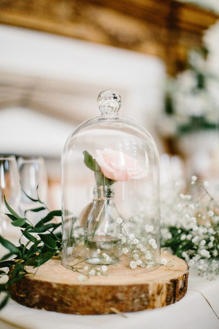 "Beautiful rustic wedding centerpiece - Enchanted Rose ""Beauty and the Beast"" Wedding #centerpieces #rusticweddingideas"