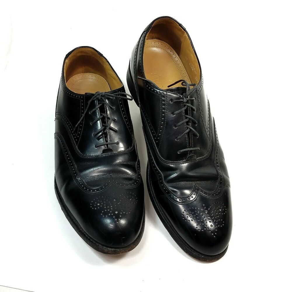 Stafford Executive Black Oxford Wing Tip Leather Shoes Mens Size 13 B Aa Stafford Mensshoes Black Oxford Shoes Loafers Men Mens Black Dress Shoes [ 1000 x 1000 Pixel ]