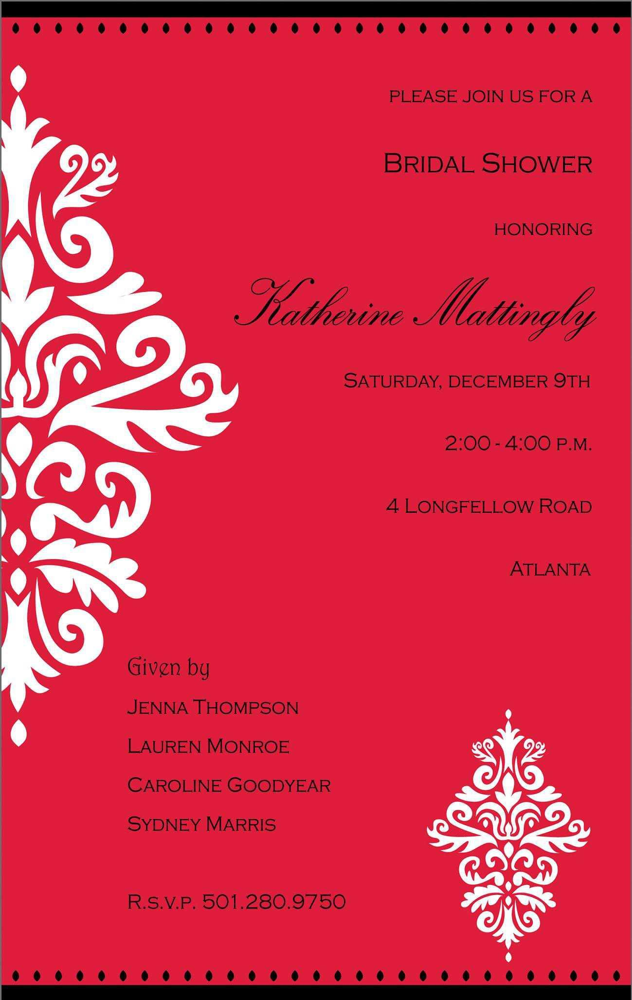 Cultural Event Invitation Cards Birthday Invitations Template