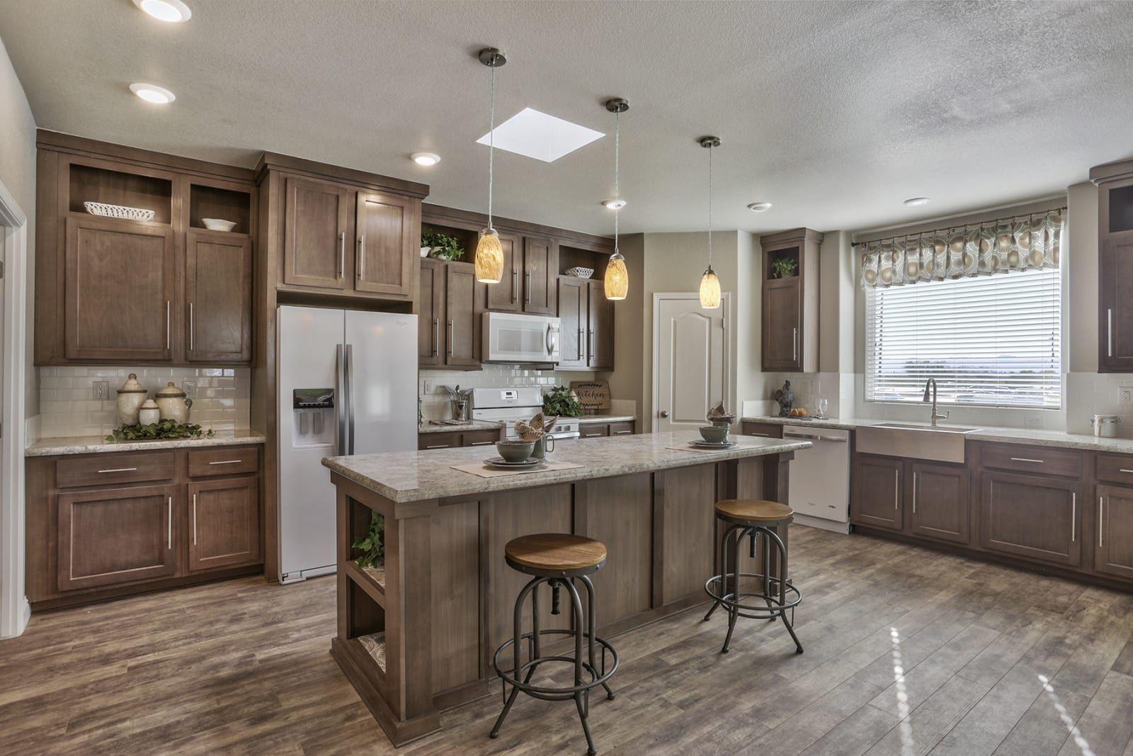 American Freedom 3266d Champion Homes Champion Homes Kitchens