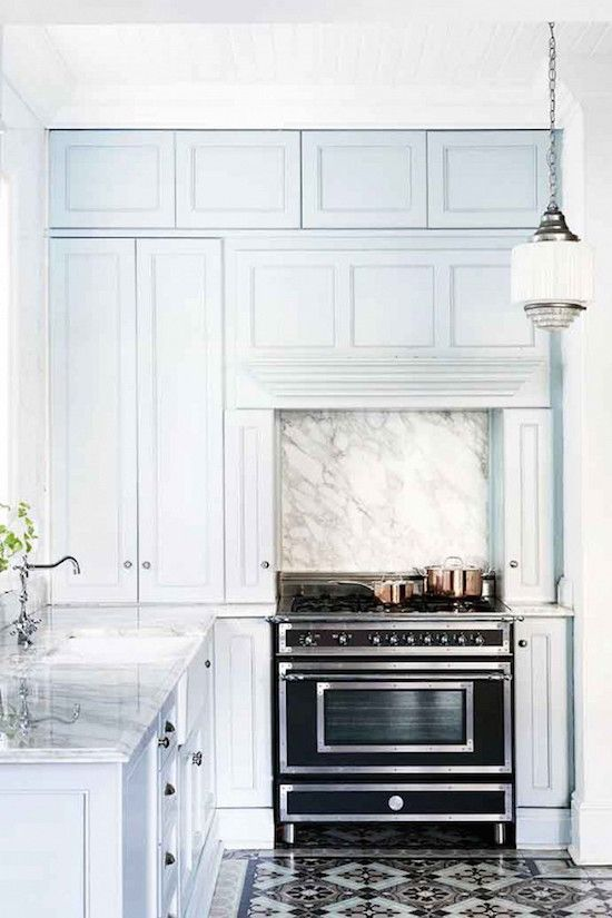 The Zhush: Home Tour: Calming Blues in Cape Town | Kitchens ...