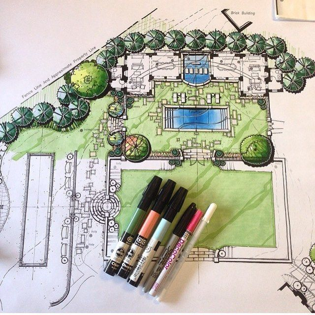 Awesome!! Landscape architecture by @stephen_w_hackney