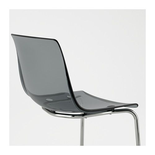 TOBIAS Chair   Gray/chrome Plated   IKEA