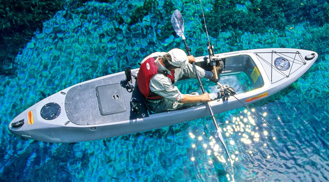 Caribe Clear Bottom Fishing Kayak Big Boy Toys And Man