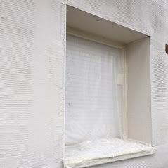 Urbel Facade Isolation De Facade Sur Lens Marouflage De La Trame Dans Un Sous Enduit En 2020 Isolation Isolation Thermique Facade
