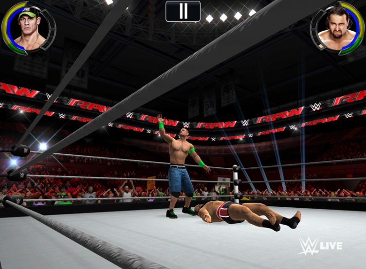 WWE 2K First SimulationBased WWE Video Game on Mobile