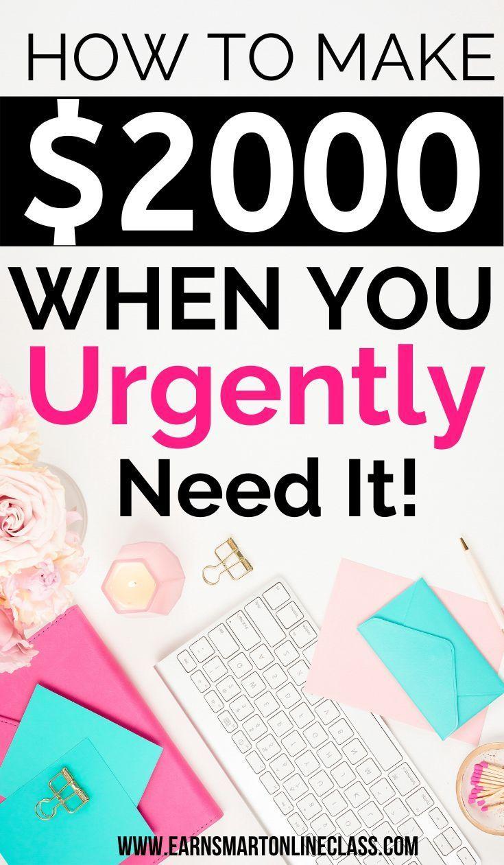 Need Money Now? 19 Quick Ways to Get Money Today