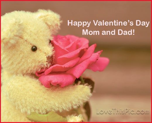 Happy Valentine's Day Mom And Dad valentines day valentine's day valenti…