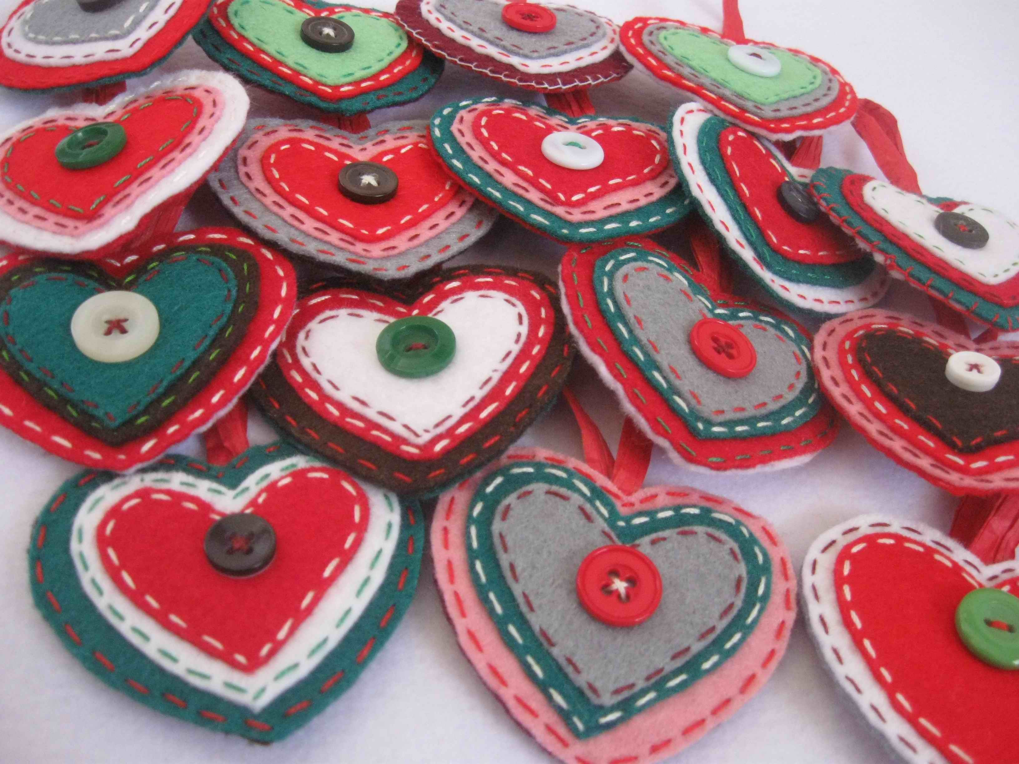 Inspiraci N Para Labores De Navidad En Fieltro Christmas Craftsfelt