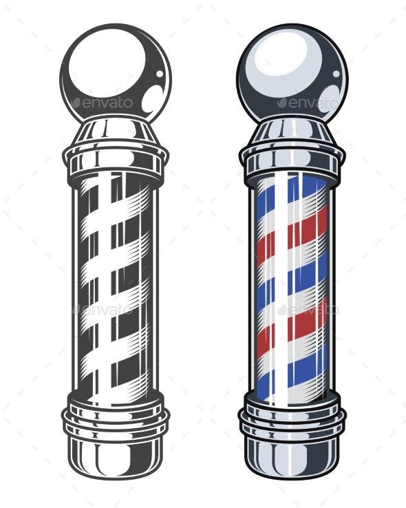 Pix For Barber Pole Designs Barber Pole Barber Barber Shop Pole