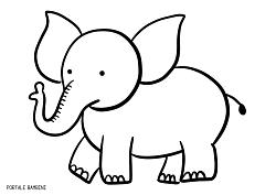 Disegni Di Elefanti Da Stampare E Colorare Gratis Portale