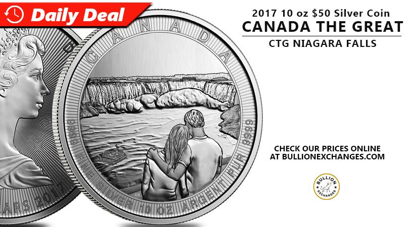 Follow the link to learn more: http://bullionexchanges.com/2017-10-oz-silver-ctg-niagara-falls