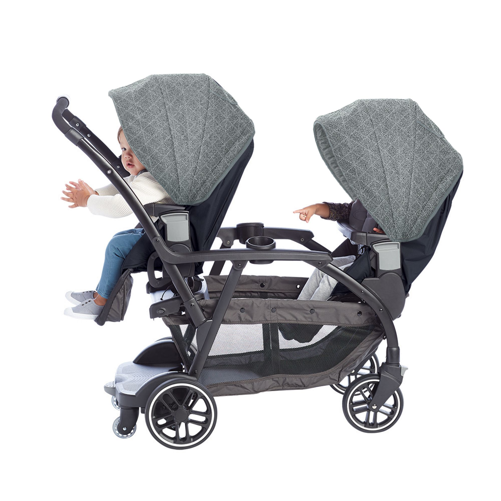 13+ Double stroller graco modes duo information