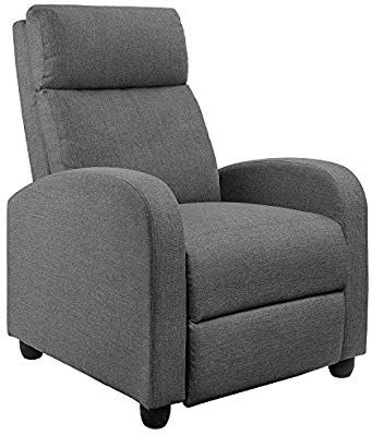 Stupendous Amazon Com Jummico Fabric Recliner Chair Adjustable Home Gmtry Best Dining Table And Chair Ideas Images Gmtryco