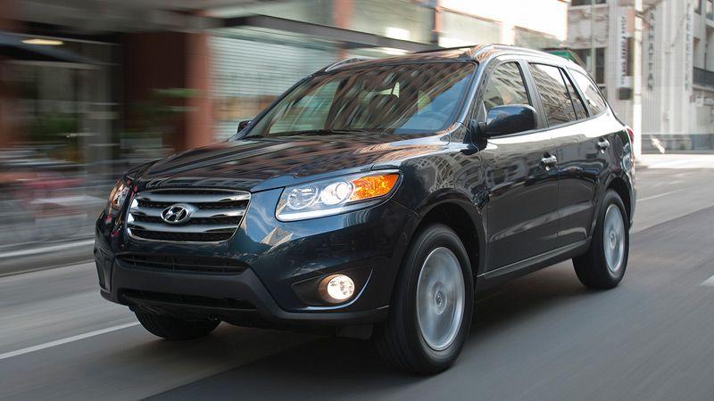 2012 SANTA FE LIMITED IN PACIFIC BLUE PEARL #Hyundai #Santa Fe