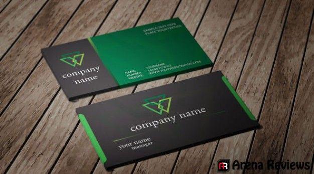 Letterpress And Edge Coloring Create A Business Card That Pops