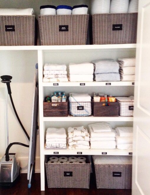 Pin By Angie Aldridge Mangan On Bathroom In 2020 Linen Closet