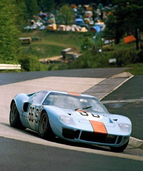 David Hobbs Brian Redman Gulf Ford Gt  Km De Nurburgring  Source Carros E Pilotos