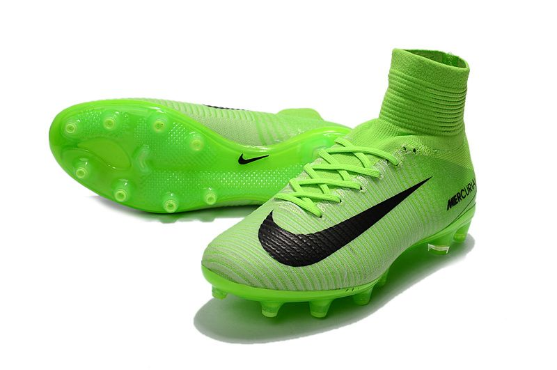 Shop Nike Mercurial Superfly V Radiation Flare FG Soccer Boots Electric  Green Black Ghost Green
