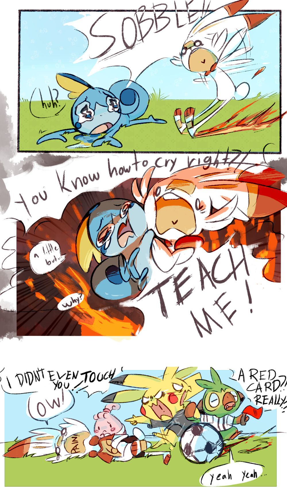 Pikachu Meme Face Text