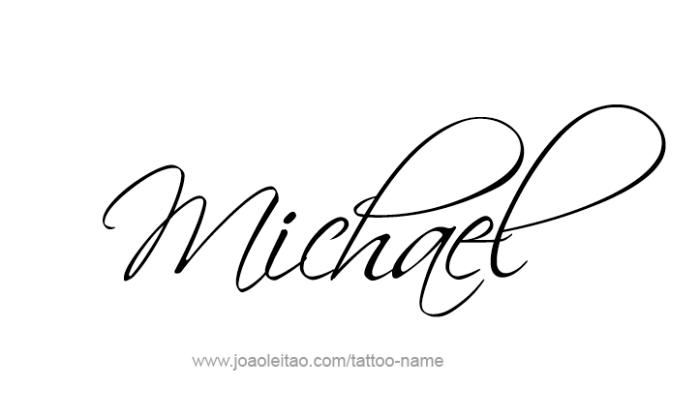 Michael Angel Name Tattoo Designs Name Tattoo Designs Name Tattoos Tattoo Name Fonts