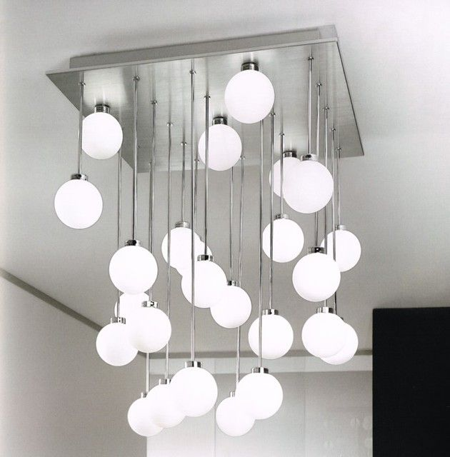 Marvelous Modern Ceiling Lamps 3 Light Fixtures